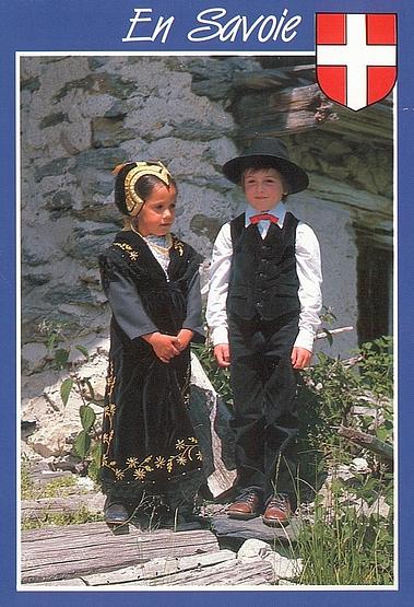 Welt der Mode - Savièse costumes
